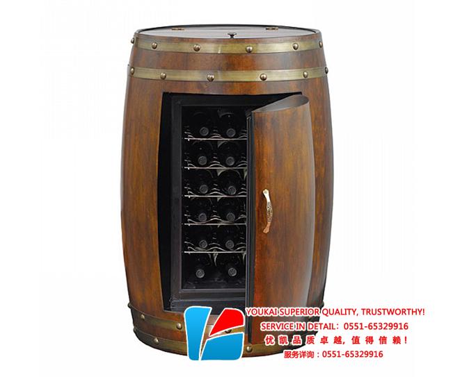 橡木桶红酒柜